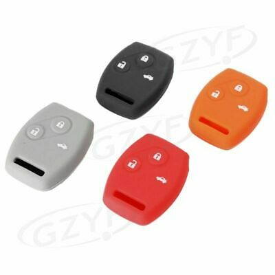 Silicone Key Case Fob For Honda CR-V Odyssey Fit Civic Accord Protector Cover