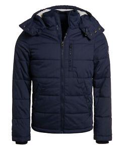 New Mens Superdry Bluestone Jacket Deep Navy Marl