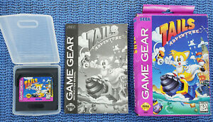 USED-Tails-Adventure-Sega-Game-Gear-1995-COMPLETE-With-BOX-and-Manual