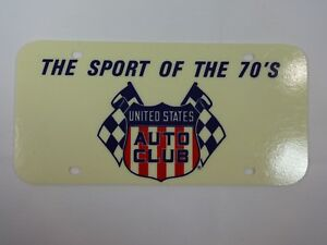 United-States-Auto-Club-USAC-The-Sport-Of-The-70-039-s-License-Plate-Indy-500-Midget