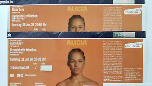 2 x Alicia Keys 13.07.2022 Olympiahalle München - Top Sitzplätze  - neuer Termin