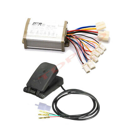 36V 800W MOTOR SPEED CONTROLLER FOOT PEDAL ELECTRIC SCOOTER BRUSH BIKE BICYCLE