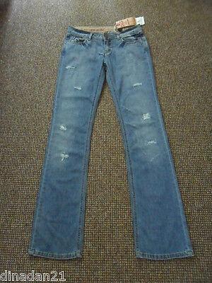 Size W28/l34 Boot-cut Brand New Blue Ripped Honest Dolce&gabbana Women's Jeans