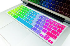 "Rainbow Keyboard Cover Skin Protector Apple Macbook Air/PRO 13.3"" /15.4"".17"""