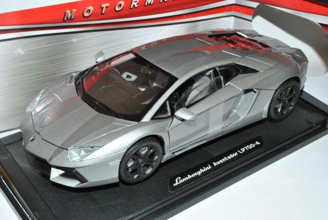 Lamborghini Aventador LP700-4 Coupe Grau Ab 2011 1/18 Motormax Modell Auto mit..