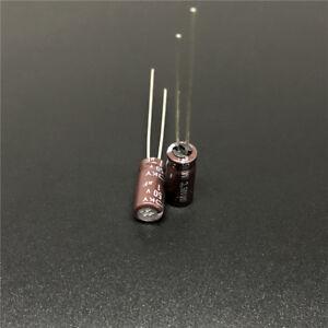 1UF 50V NCC RADIAL ELECTROLYTIC CAPACITORS.6PCS.KY