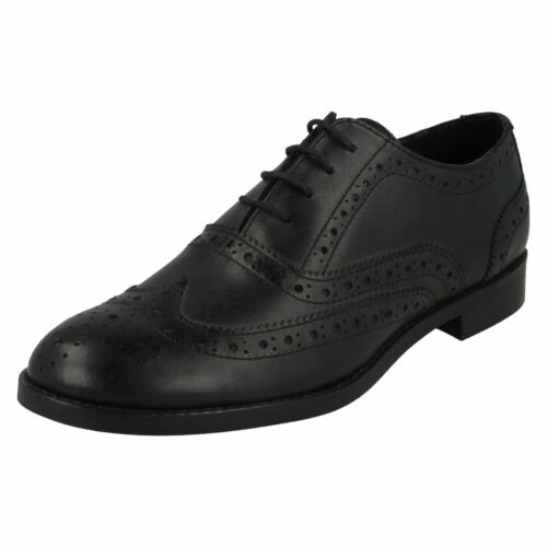 Ladies Leather Collection Low Heel Lace Up /'Brogue/' Shoes
