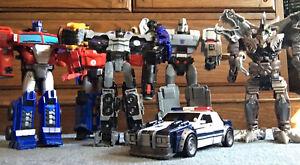 Transformers Loose Action Figure Lot Megatron Hasbro Cybertron Optimus Prime
