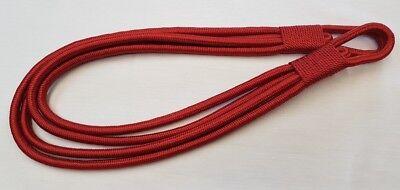Large Copper Rust Silk Cord Banded Rope Curtain Tieback Drape £5.95 Each Delizie Amate Da Tutti