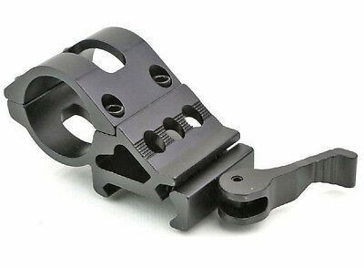 "Tactical 45 Degree 1"" 25.4mm Ring Offset Picatinny Rail Quick Release Mount Y01"