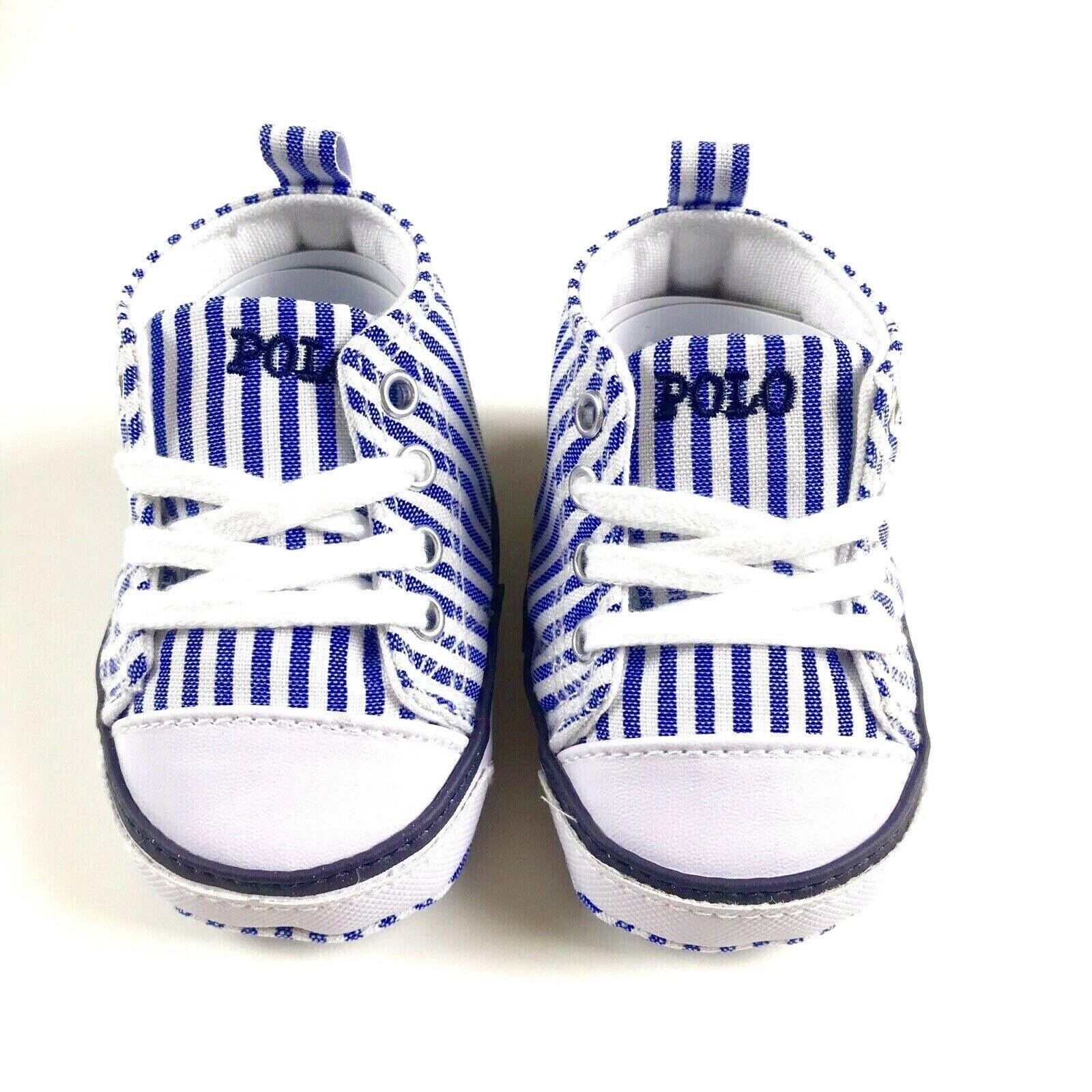 Polo Ralph Lauren Baby Boy White Blue