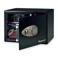 Sentry Group Electronic Safe W/lock/key, 17x14-3/4x10-3/5, Black X125 on Sale