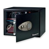 Sentry Group Electronic Safe W/lock/key, 17x14-3/4x10-3/5, Black X125 on sale