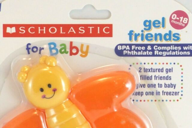 ... autumn shoes a7491 a4c8c NEW Scholastic Baby Teething Toys BPA Free  Safe and Freezable Non Toxic ... 95cc0e2230