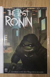 Tmnt The Last Ronin #1 NM Variant 450 Noah Sult Signed 1st Print