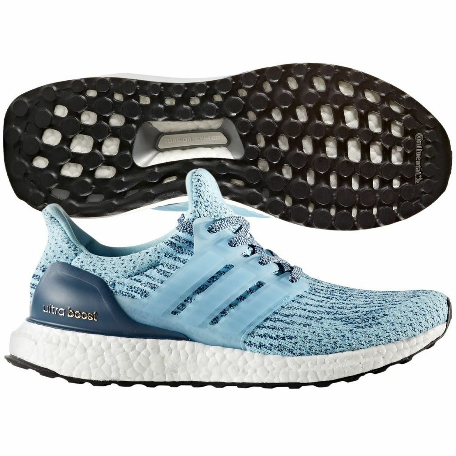 new style a7f58 230ad New Adidas Ultra Boost Icey bluee bluee bluee Women S82055 ...