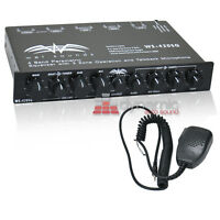 Wet Sounds Ws-420sq 4 Band Parametric Marine Boat Equalizer Eq