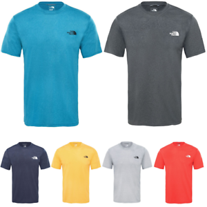 THE-NORTH-FACE-TNF-Reaxion-Amp-Running-Training-Gym-T-Shirt-Short-Sleeve-Mens