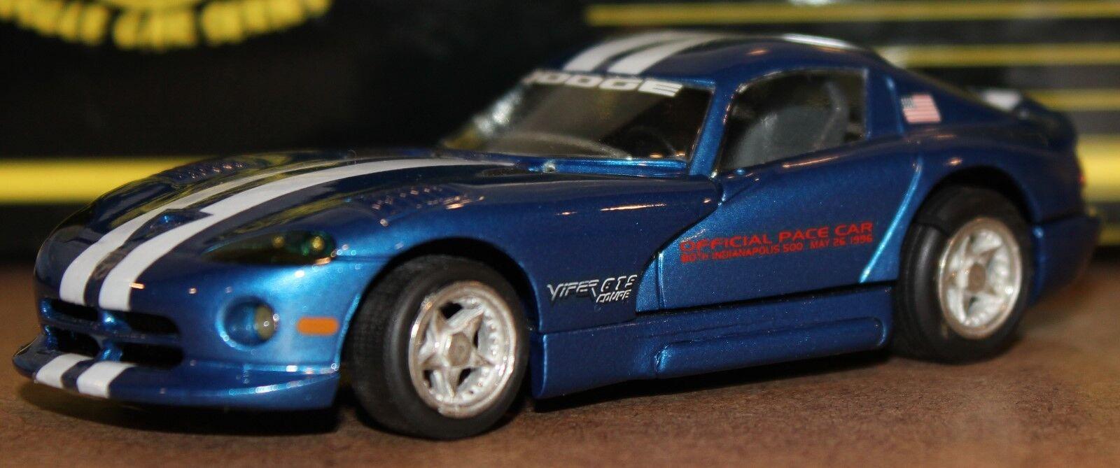 PTH Western Models 16P 1996 Dodge Viper GTS Indianapolis Pace Car bianca Metal