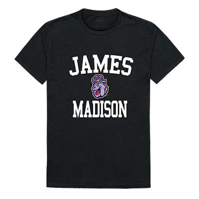 James Madison University Foundation JMU NCAA Logo Licensed Tee T-Shirt S-2XL