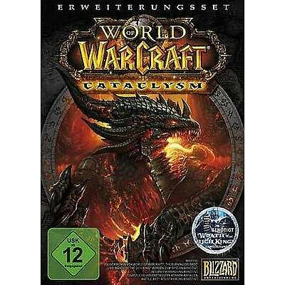 WORLD OF WARCRAFT Addon Cataclysm * DEUTSCH BRANDNEU