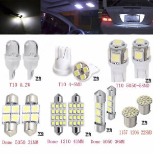 14Pcs-Car-White-LED-Interior-Kit-For-T10-amp-31mm-Map-Dome-License-Plate-Lights-Set