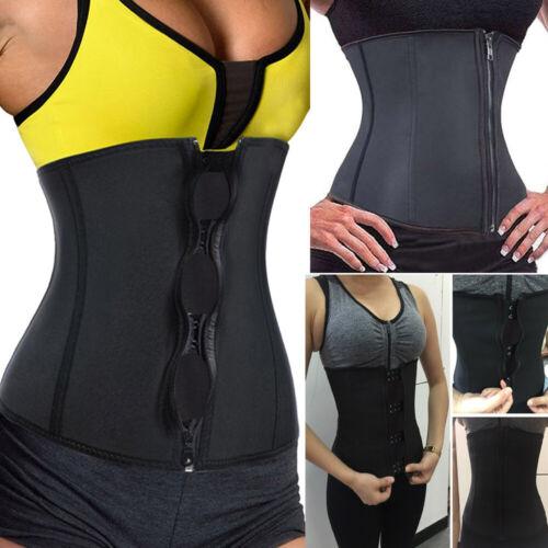 Women Fitness Slimming 7 Steel Bone Latex Waist Trainer Cincher Belly Belt J9106