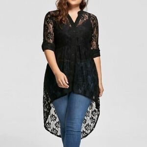 Women-Blouse-Shirt-Tops-Long-Sleeve-Casual-V-Neck-Loose-Sexy-Plus-Size-Embroider