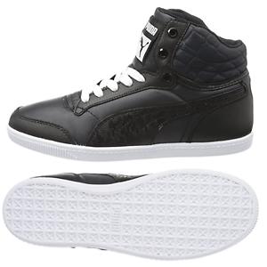 Puma-Glyde-Court-Acolchado-Mujer-Zapatillas-de-Deporte-con-034-Bolso-034-41-Nuevo