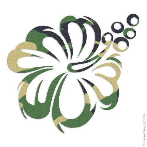 Hawaiian Flower Hibiscus Decal Sticker Choose Pattern Size #356