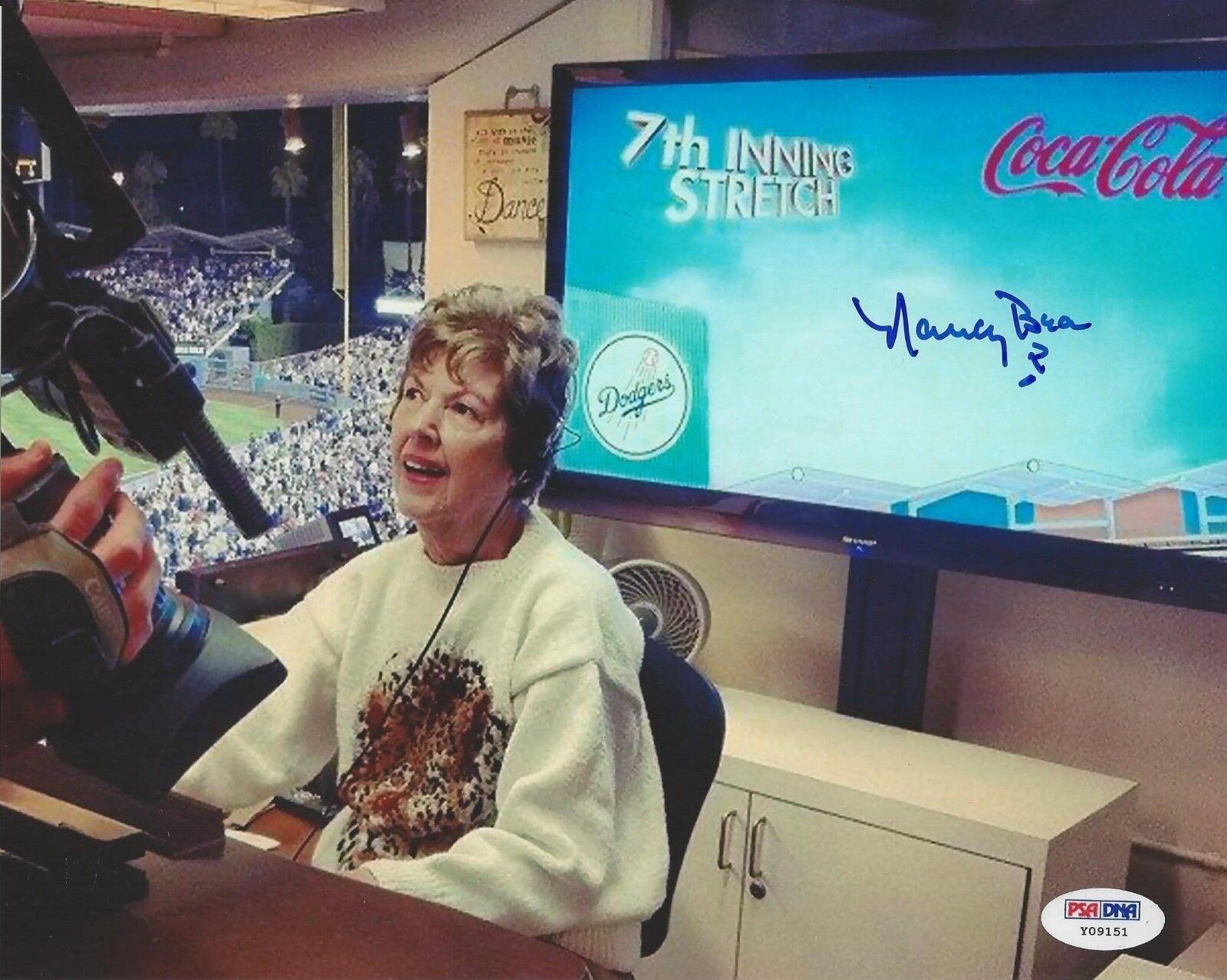 Nancy Bea Hefley Dodgers Organist 8x10 - PSA/DNA # Y09151