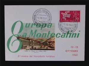ITALIA-MK-1961-EUROPA-CEPT-TAUBE-PIGEON-MAXIMUMKARTE-MAXIMUM-CARD-MC-CM-c6590