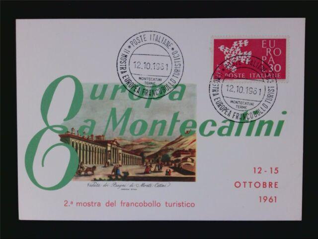 ITALIA MK 1961 EUROPA CEPT TAUBE PIGEON MAXIMUMKARTE MAXIMUM CARD MC CM c6590