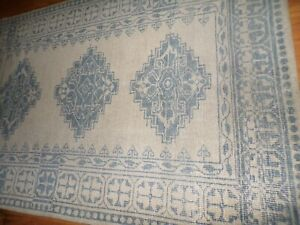 POTTERY BARN JAAREH HAND KNOTTED WOOL