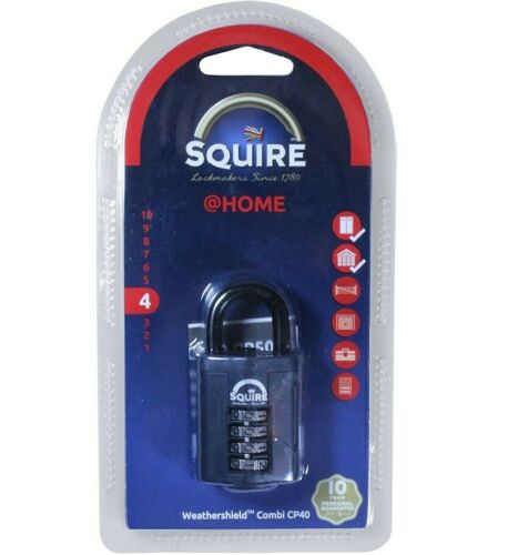 Henry Squire CP40 10000 Combinaison Cadenas 40 mm serrure NEUF