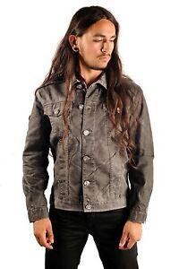Justing-White-Black-Coated-Denim-Jacket-Rocker-Jacket-Waxed-Denim-Rocker-Jacket