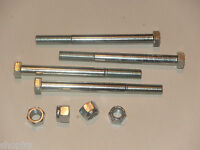 """Land Rover Series 2, 2a, 3 Front Bumper Nuts and Bolts 3/8 UNF x 4.25"""""""