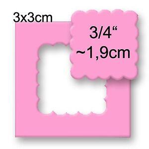 L Motivstanzer Rechteck 3,3 x 1,9 cm