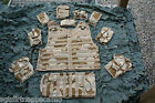 DPM Desert/ ARID Tactical  Molle Vest / Hydration Carrier/ Vest with 10 pouches