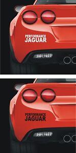 JAGUAR  140mm   PANEL WINDOW Stickers   Performance