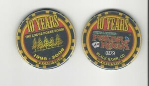 Lodge-Casino-Black-Hawk-CO-Poker-Room-10-Year-Chip