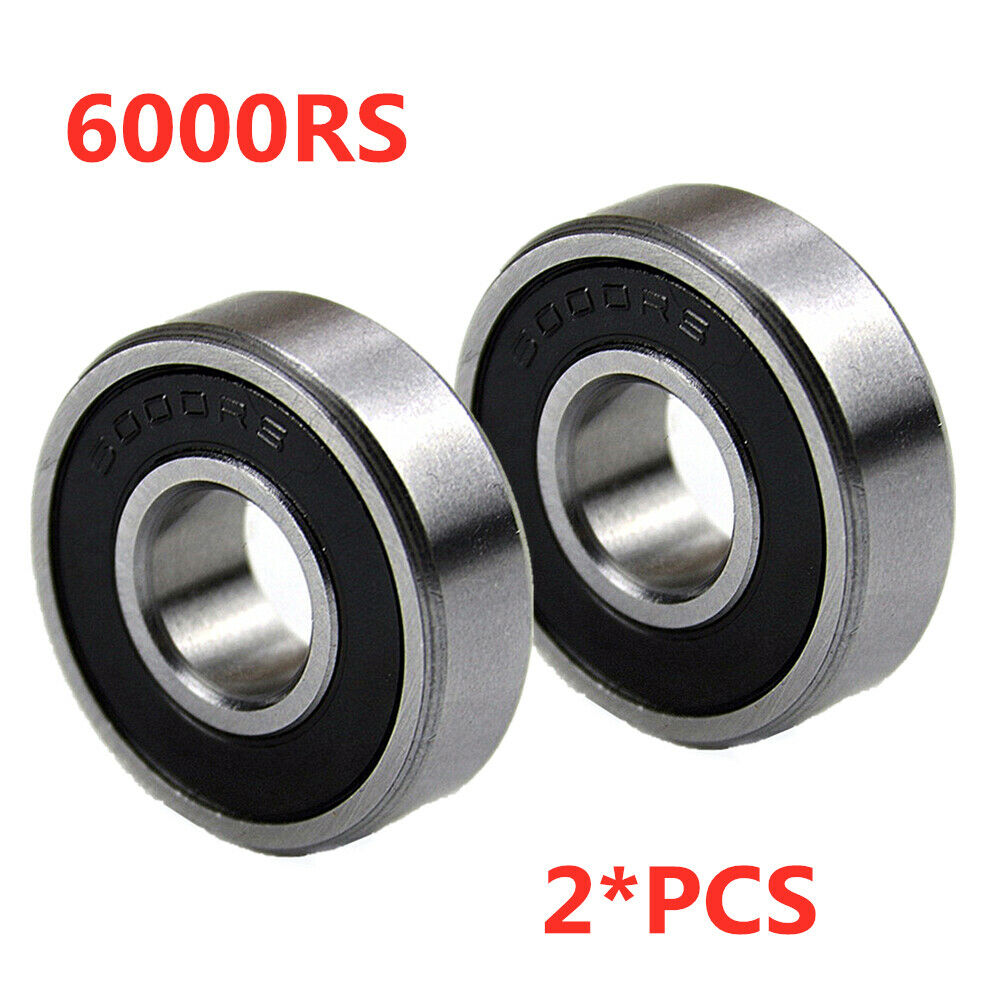 10 6000RS 10x26x8 Sealed 10mm//26mm//8mm Deep Groove Radial Ball Bearings