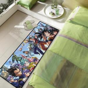 Round Floor Carpet Black White Bat Bedroom Area Rug Velboa Non-slip Kid Play Mat