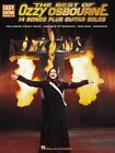 The Best of Ozzy Osbourne: 14 Songs Plus Guitar Solos by Hal Leonard Corporation (Paperback, 2002)