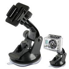 GOPRO HERO 4 3+ 3 2 1 QUICK RELEASE SUCTION CUP MOUNT CAR WINDSCREEN WINDOW