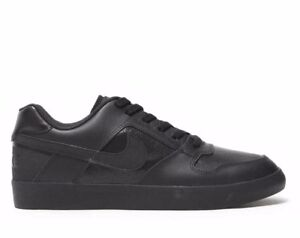 e6f53967d11ea3 Nike SB Delta Force 942237-002 Black Classic Casual Shoes Men