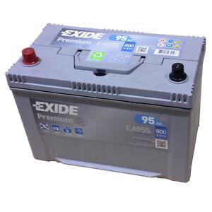 EXIDE-PREMIUM-EA-955-12V-95AH-Starterbatterie-Kaeltepruefstrom-EN-A-800