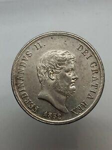 Kingdom-of-Naples-Ferdinand-II-of-Borbone-Plate-120-Grit-1852-N-c-Spl
