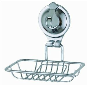 Bathroom Accessories With Suction Cups popular bath tailor chrome locking suction cup bathroom soap dish
