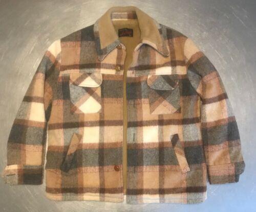Vintage Plaid Hunting Jacket A Pollock SZ L